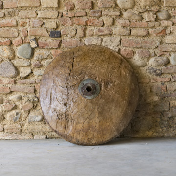 Ruota di legno