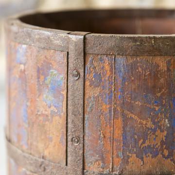 Cestino in legno